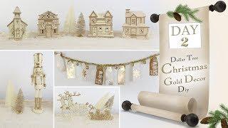 Dollar Tree Christmas Decor DIY / Day 2