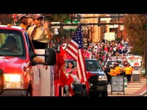 2012 Anderson, SC Christmas Parade