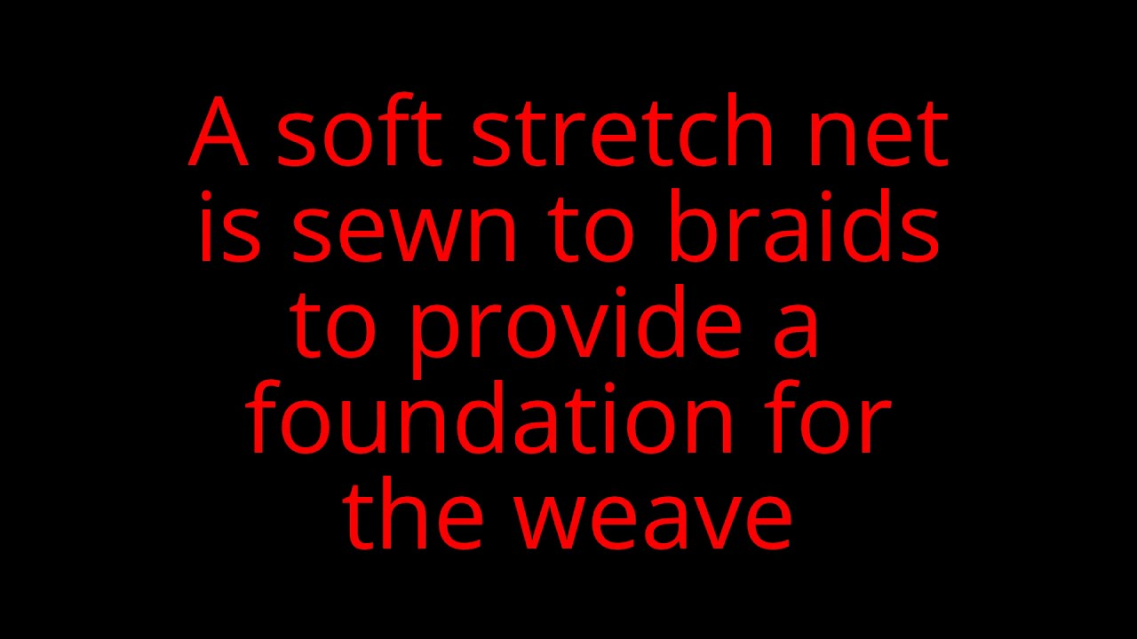 Sew In Weave For Alopecia And Thinning Youtube