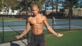 "How To Burn Fat Fast With Jump Rope ""HIIT Cardio"" (Big Brandon Carter)"