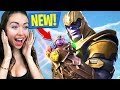 *PLAY AS THANOS* NEW INFINITY GAUNTLET FORTNITE UPDATE!! (Fortnite Battle Royale)