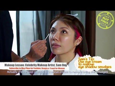 Makeup Base for a long lasting Makeup - May Makeup Tutorial with Sam Ong Ep 2