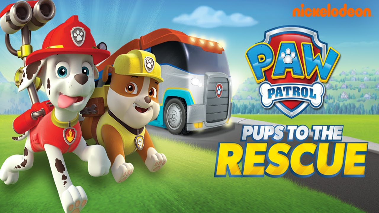 paw patrol pups to the rescue nickelodeon  best app for