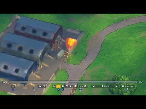 Fortnite Meteor Strike Near Dusty Depot