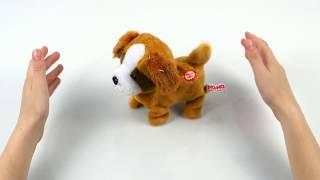"Интерактивная игрушка ""Собака которая поёт и гуляет"" от Na-Na"