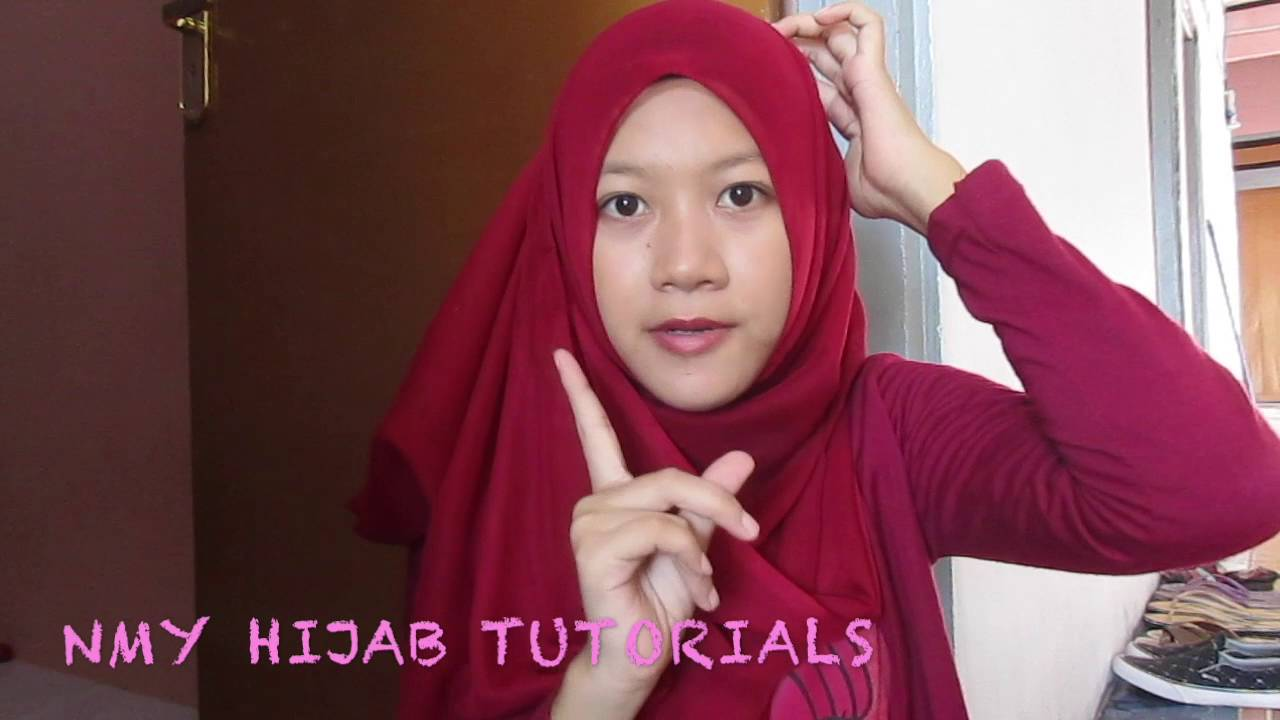 Tutorial Hijab Paris Segi Empat Casual NMY Hijab Tutorials YouTube