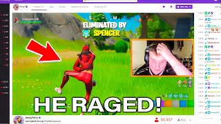 I stream sniped this NERD until he DELETED fortnite...