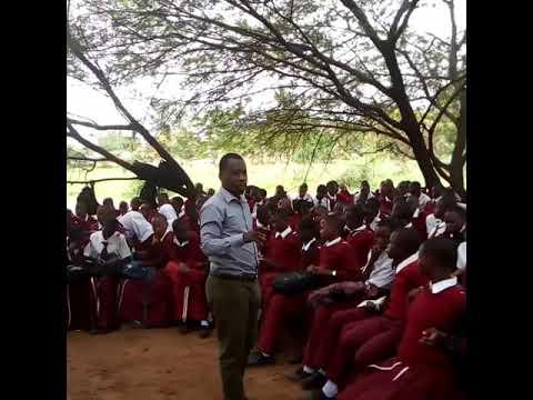Students sensitization at mwisenge secondary school at Musoma