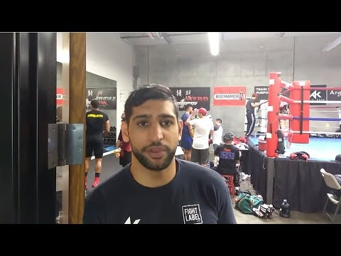 Amir Khan Calls Out Crawford & Spence