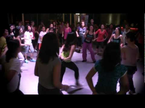 ZUMBA PHILIPPINES NICKMANJARES IN  ZUMBA  IN THE  CLUB  PARTY BY BREWING POINT5