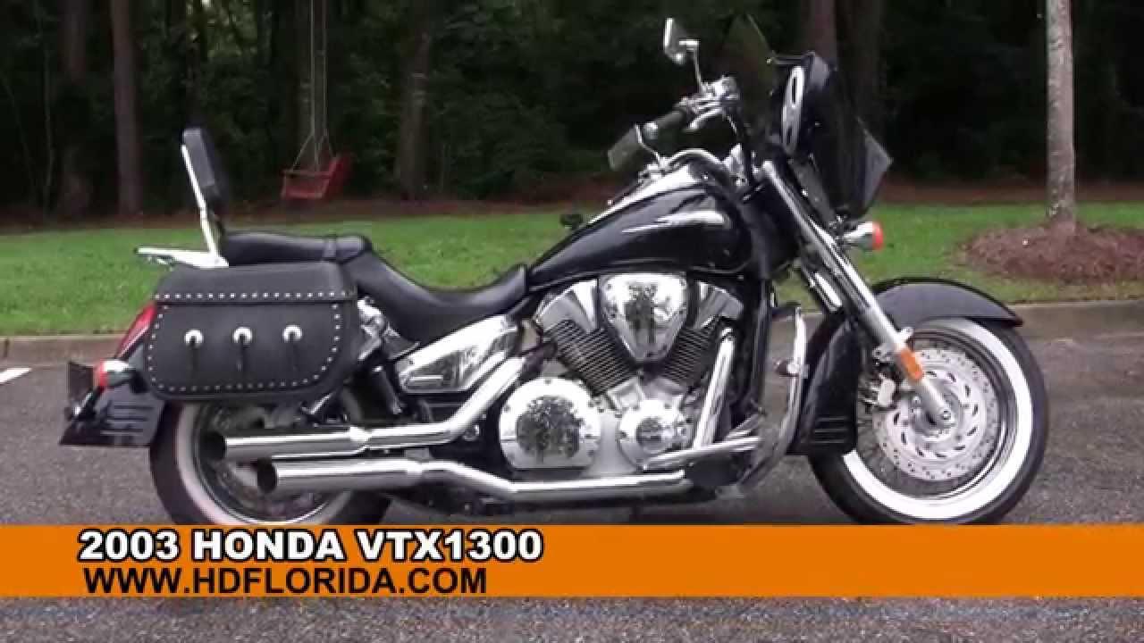 Used 2003 Honda VTX1300 Motorcycles for sale  YouTube
