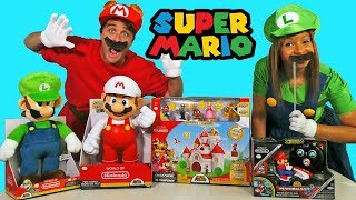 Super Mario Toy Challenge + Mario and Luigi ! || Toy Review || Konas2002