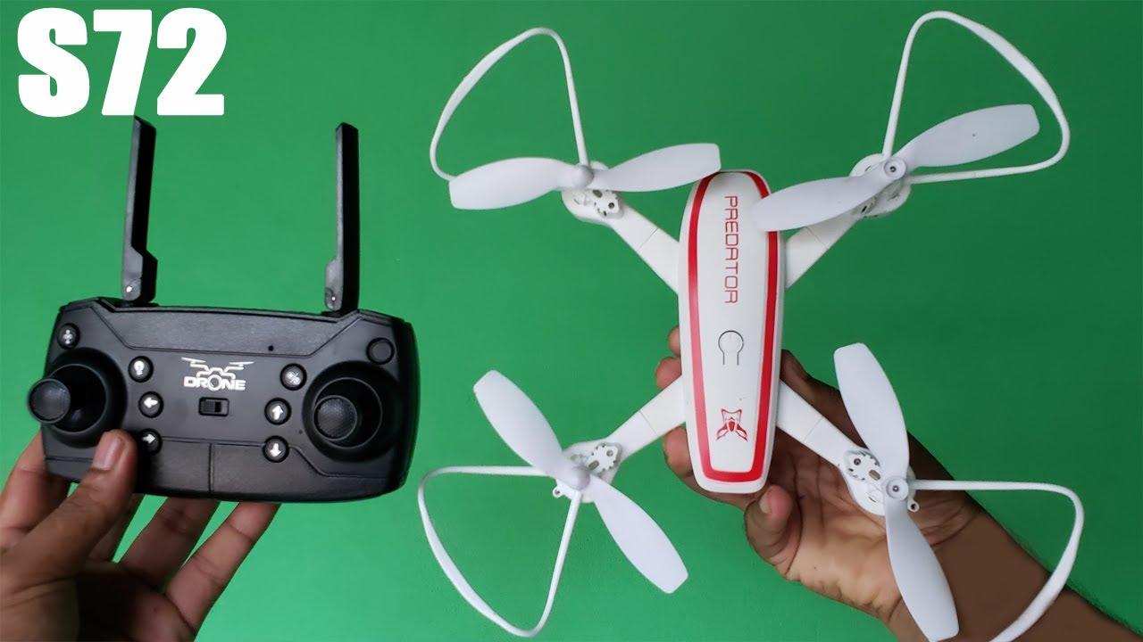 গরিবের কেমেরা ড্রোন, পানির দামে Tracker S72 WiFi Camera Drone, সস্তাদামে, দারুন ফ্লাই করবে✈