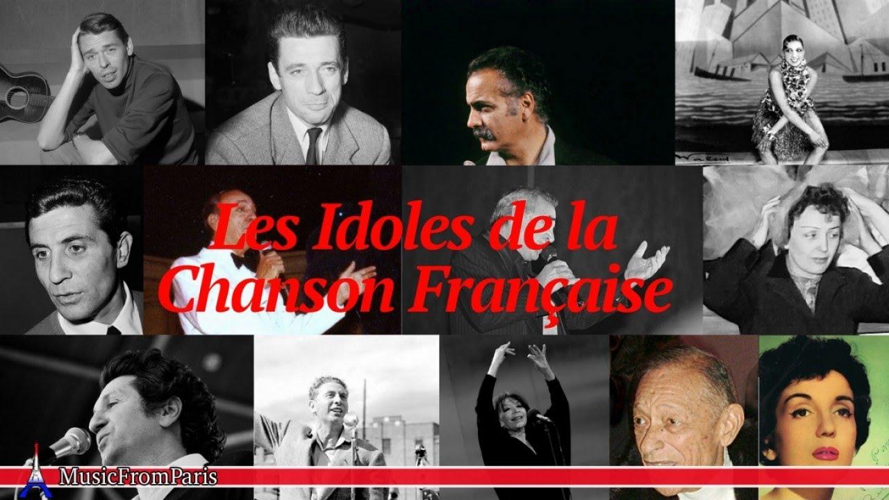 Les Idoles De La Chanson Française