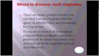 Iranibash com best provider of Iranian ringtones over internet