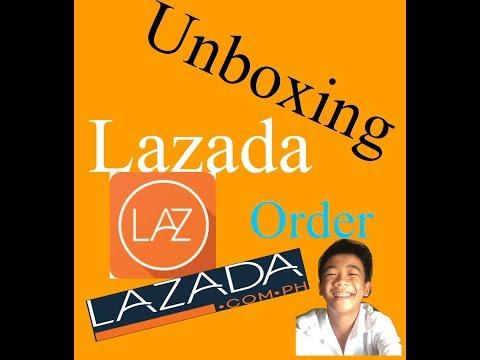 Unboxing Lazada Order|Jay Angelo Feranil