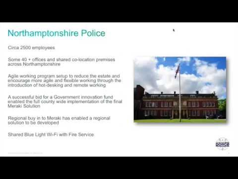 Iron-Clad Cloud Managed WiFi at Northamptonshire Police [Webinar]