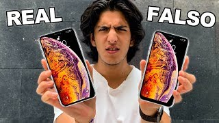 iPhone XS Max FALSO vs REAL - ¡Que DESCARO!