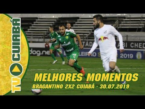 MELHORES MOMENTOS: Bragantino 2x2 Cuiabá •  Série B - 30/07/2019