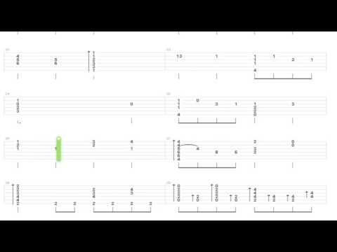Как играть Fallout 4 на гитаре | How to play Fallout 4 on guitar