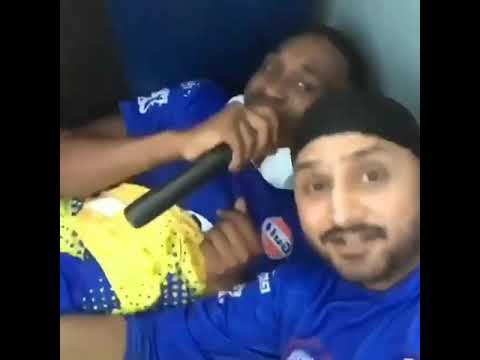 """Bravo And Harbhajan"" Sing The Song Of Hookah Bar Full Enjoy"