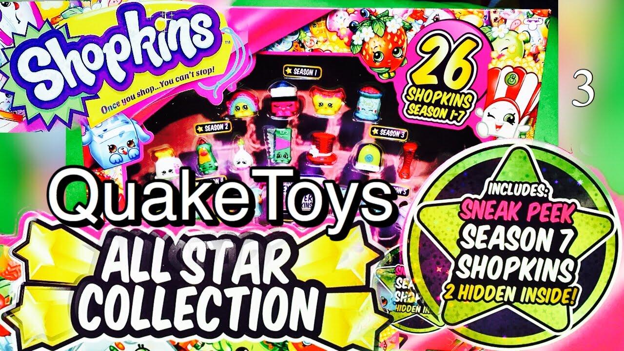 Newest Shopkins Season 7 Release Toys R Us Glitter