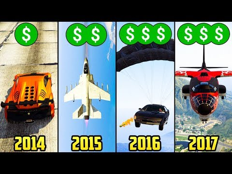 HOW THE PRICES IN GTA ONLINE HAVE CHANGED OVER THE YEARS!