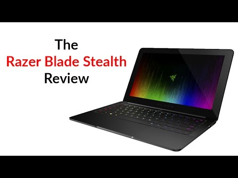 The New Razer Blade Stealth Review - YouTube Tech Guy - YouTube