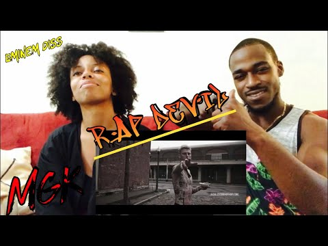 MGK - RAP DEVIL MUSIC VIDEO! EMINEM DISS ( Th&Ce Reaction)