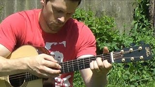 9 Crimes - Damien Rice - Fingerstyle Guitar Interpretation