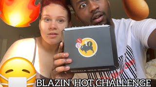 Buffalo Wild Wings Blazin' Hot Challenge | I Started Crying 😢 😭