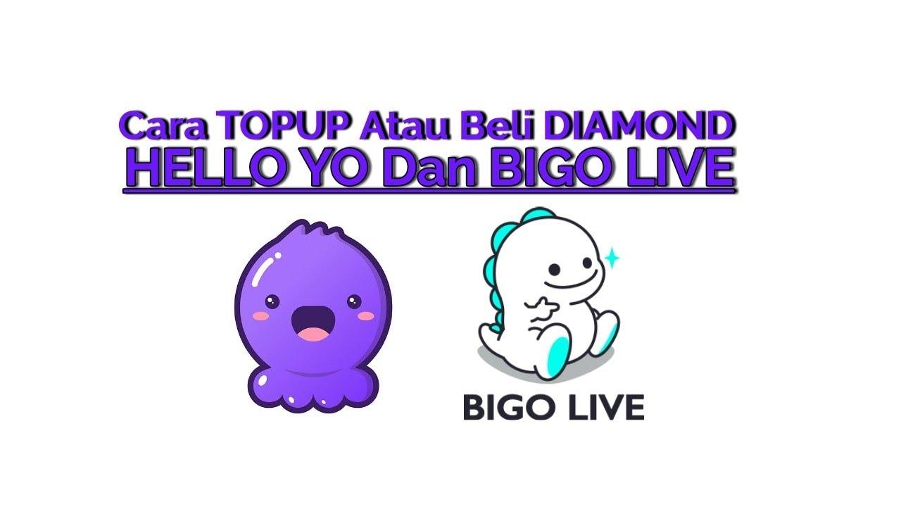 Cara Topup Atau Beli Diamond HELLO YO Dan Juga BIGO LIVE #Belidiamond  #Topup #TopupBcaMobileBangking