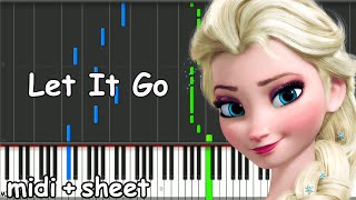 Frozen - Let It Go Piano Tutorial