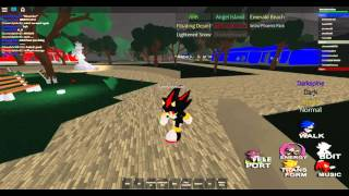 Roblox Sonic RP All Swords and Arm BONE!!