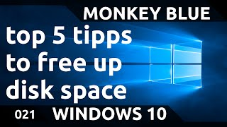 Windows 10: Top 5 ways to free up disk space