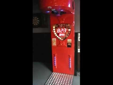 Hard hits on punching machine