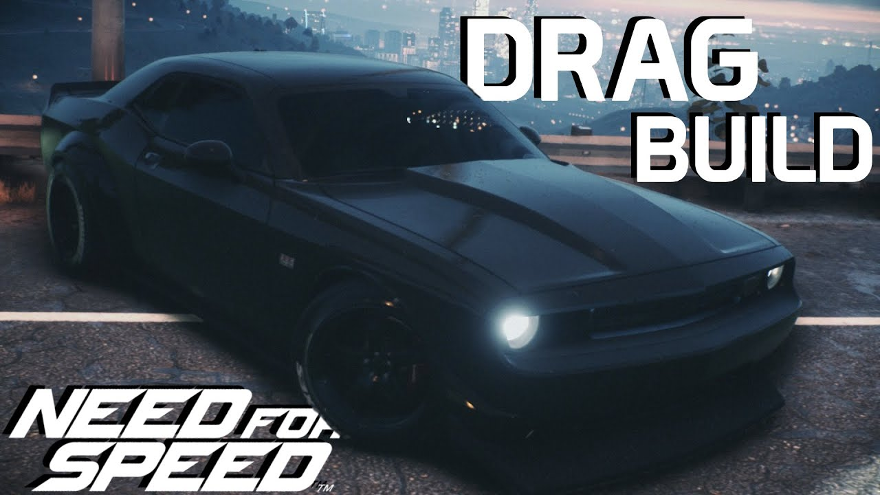 Build A Dodge >> 1200hp Dodge Challenger Drag Build Need For Speed 2015 Youtube