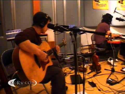 "The books performing ""Take Time"" on KCRW"