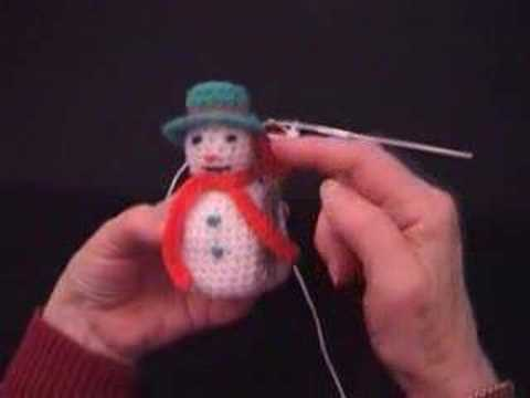 Easy Crochet Patterns Crochet Snowman Youtube
