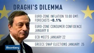 Could EU Inflation Bolster Draghi's Calls for QE?