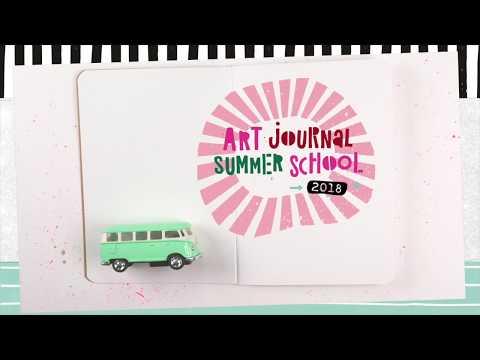 Art Journal Summer School 2018 | Announcing the awesome Guest Teachers!
