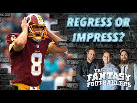 Regress or Impress? CBS Sports Jamey Eisenberg, & News Ep. #209 - The Fantasy Footballers