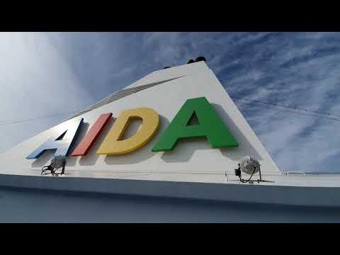 An Bord Der AIDAaura/ Rundgang/ Inside/ 15.09.2019