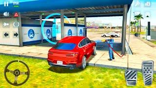 Private Driver Job Simulator - 4x4 BMW & Dacia Taxi Cars - Android Gameplay screenshot 2