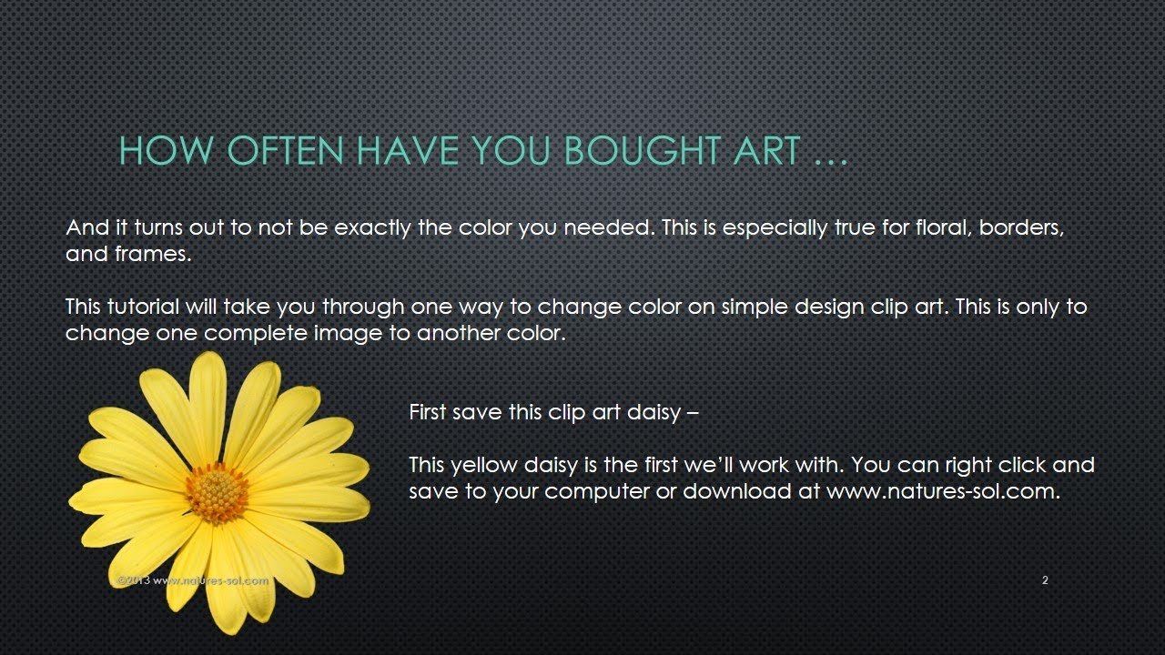 Daisy Flower Clip Art Manipulations Youtube