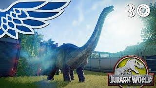 JURASSIC PARK | Apatosaurus Part 30 - Jurassic World Evolution Let's Play Walkthrough