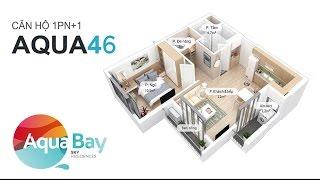 ECOPARK - Căn hộ Aqua 46 m2 - Aqua Bay Sky Residences