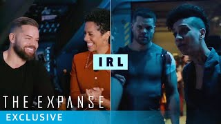 The Expanse Cast IRL | Q&A with Castmembers | Prime Video