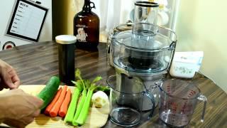 Making 'Detox' Juice with my Breville Juicer