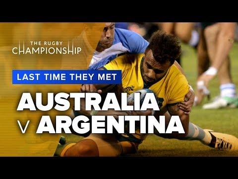 LAST TIME THEY MET | Australia V Argentina